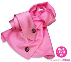stropdasn en sjaal met logo opdruk Hairlevel XL