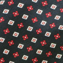 Herensjaal Patterned Silk