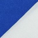 Pochet uni kobaltblauw