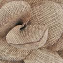 Revers pin Linnen Look bruin