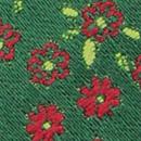 Sir Redman strik Little Flowers groen