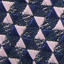 Strik Triangle Trip blauw roze