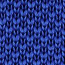 Strik gebreid kobaltblauw