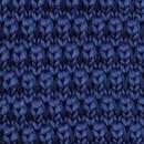 Sir Redman gebreide strik donkerblauw