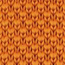 Strik gebreid oranje