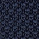 Sir Redman gebreide stropdas donkerblauw