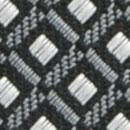 Stropdas patroon grijs wit