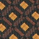Stropdas patroon zwart oker