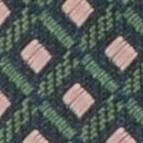 Stropdas patroon groen roze
