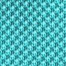 Stropdas gebreid turquoise