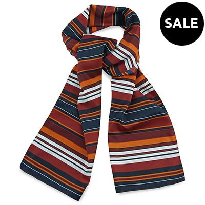 Sjaal rood gestreept