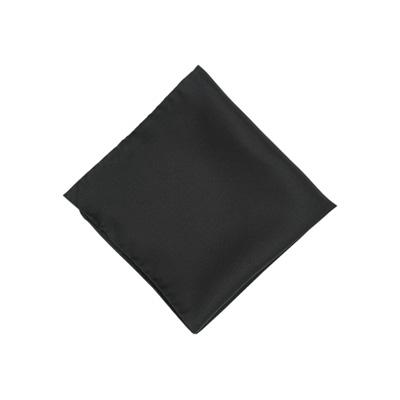 Pochet polyester zwart