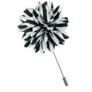Revers pin dahlia streep