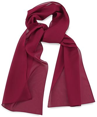 Sjaal uni bordeauxrood