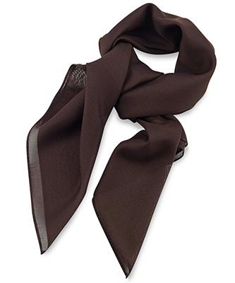 Sjaal chocoladebruin