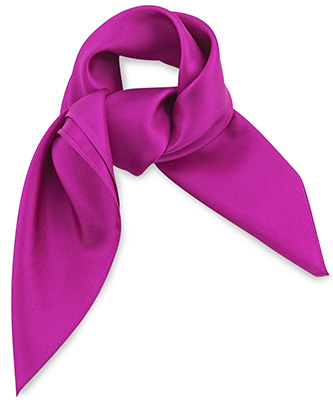 Sjaal zijde fuchsia