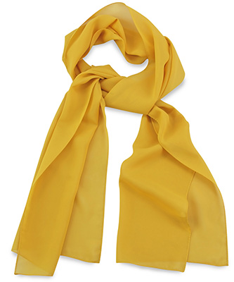 Sjaal uni geel