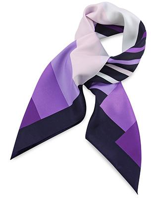 Sjaal paars gestreept