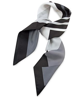 Sjaal grijs gestreept