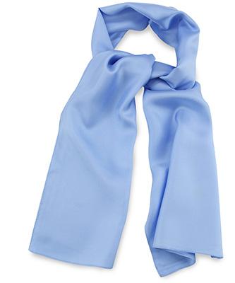 Sjaal lichtblauw uni