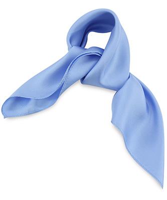 Sjaal zijde lichtblauw