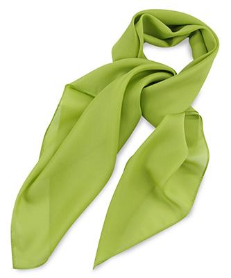 Sjaal limegroen