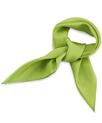 Sjaal zijde limegroen