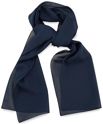 Sjaal uni marineblauw