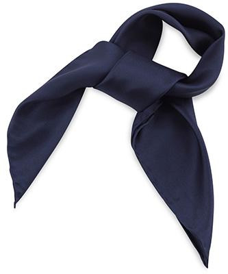 Sjaal zijde blauw