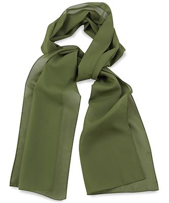 Sjaal uni legergroen