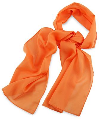 Sjaal uni oranje