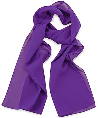 Sjaal uni paars