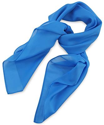 Sjaal process blue