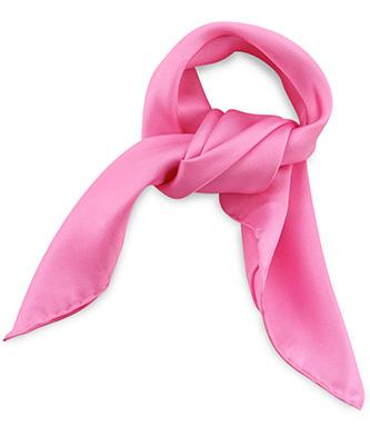 Sjaal zijde roze