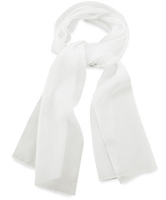 Sjaal uni wit