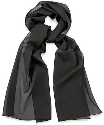 Sjaal uni zwart