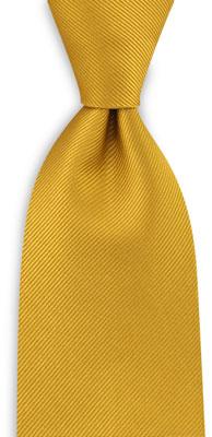 Stropdas repp geel