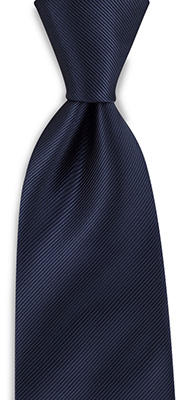 Stropdas marineblauw repp