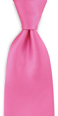 Stropdas repp roze