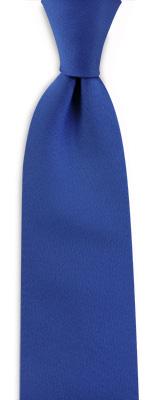 Stropdas kobaltblauw smal